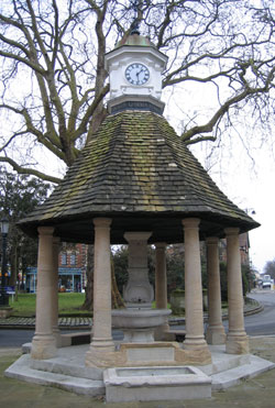 Victoria Fountain, The Plain