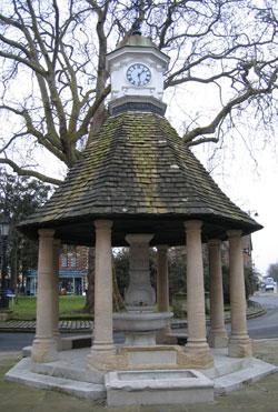 Victoria Fountain, The Plain